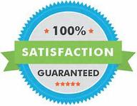 100% satisfaction guaranteed on all or our work